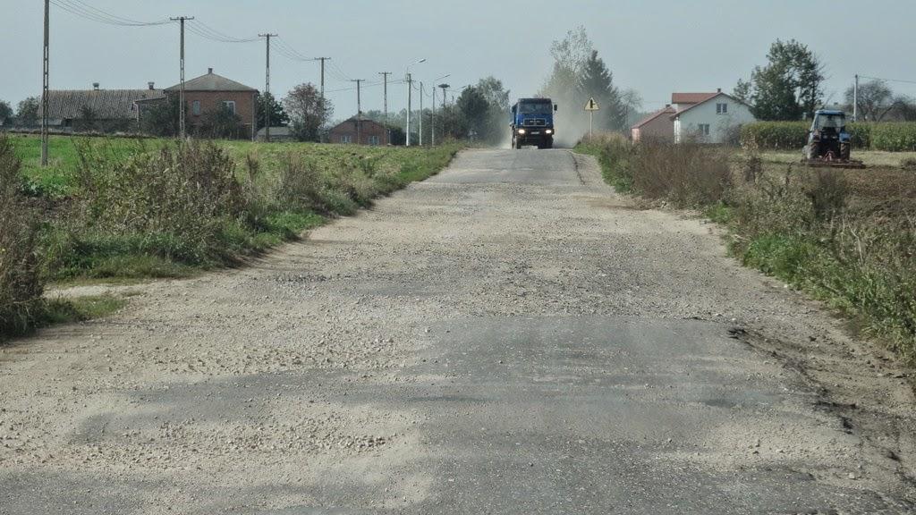 Czy będzie odbudowana droga Brodzica-Gozdów ? Wszystko na to wygląda, że jeszcze w 2020r.
